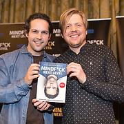 NLD/Amsterdam/20191125 - Boekpresentatie Victor Mids, Victor Mids en Oscar Verpoort met hun nieuwe boek