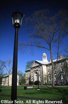 PA Historic Places Dickinson College, Old Main,Carlisle, Cumberland Co., Pennsylvania