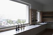 wine sample bottles in the laboratory tasting room ferreira port lodge vila nova de gaia porto portugal