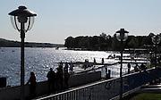 Berlin-Grünau. GERMANY.  GV's. General Views.  Silhouettes  at the  Frühregatta Saturday 30/04/2011 [Mandatory Credit; Peter Spurrier/Intersport-images]