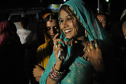 Wedding celebration in the city of Udaipur in India's Rajasthan Thar desert. (Photo by Ami Vitale)