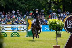 MEYER-ZIMMERMANN Janne-Friederike (GER), Quim 2<br /> Hamburg - 90. Deutsches Spring- und Dressur Derby 2019<br /> Equiline Youngster Cup CSIYH1*<br /> Springprüfung für 7j. und 8j. Pferde<br /> 31. Mai 2019<br /> © www.sportfotos-lafrentz.de/Stefan Lafrentz