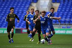 Sam Nicholson of Bristol Rovers tussles with Jon Nolan of Ipswich Town - Mandatory by-line: Arron Gent/JMP - 05/09/2020 - FOOTBALL - Portman Road - Ipswich, England - Ipswich Town v Bristol Rovers - Carabao Cup