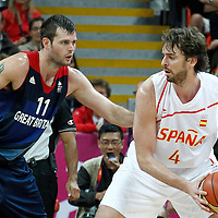 Spain vs Great Britain - 02 August