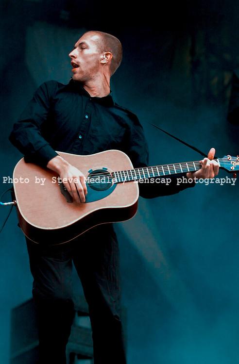 Coldplay - Chris Martin / V Festival 2001, Hylands Park, Chelmsford, Essex, Britain - August 2001.