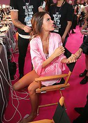 Victoria's Secret Fashion Show - Hair and Makeup, Paris, 2016, Paris, France. 30 Nov 2016 Pictured: model. Photo credit: MEGA TheMegaAgency.com +1 888 505 6342