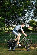 Ben Instone racing the 2009 RTTC ten mile national championship. Berkshire.