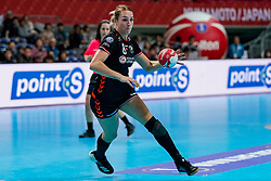 08-12-2019 JAP: Netherlands - Germany, Kumamoto<br /> First match Main Round Group1 at 24th IHF Women's Handball World Championship, Netherlands lost the first match against Germany with 23-25. / Lois Abbingh #8 of Netherlands