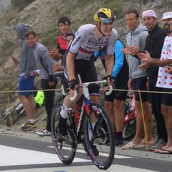 LUZ ARDIDEN (FRA) CYCLING: July 15<br /> 18th stage Tour de France Pau-Luz Ardiden<br /> Images from the Col du Tourmalet<br /> Matej Mohoric