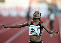 Friidrett , 15. juni 2007 , IAAF Golden League Bislett Games Oslo , <br /> Athletics <br /> Ny verdensrekord , New World record , 5000 metres<br /> MESERET DEFAR<br /> <br /> <br /> Foto: Anders Hoven , Digitalsport