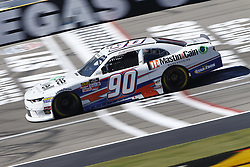 September 14, 2018 - Las Vegas, Nevada, United States of America - Josh Williams (90) brings his race car down the front stretch during practice for the DC Solar 300 at Las Vegas Motor Speedway in Las Vegas, Nevada. (Credit Image: © Chris Owens Asp Inc/ASP via ZUMA Wire)