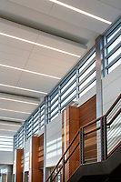 Architectural interio image of lobby of 1750 Forest Drive office building in Annapolis MD by Jeffrey Sauers of CPI Productions
