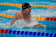 Lewis Clareburt, Men's 400m Individual Medley heat, Tokyo Aquatics Centre. Tokyo 2020 Olympic Games. Saturday 24th July 2021. Mandatory credit: © John Cowpland / www.photosport.nz