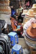 Nail care in Central Market, Phnom Penh, Cambodia, Southeast Asia