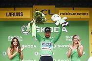 Podium Peter Sagan (SVK - Bora - Hansgrohe) green jersey during the 105th Edition of Tour de France 2018, cycling race stage 19, Lourdes - Laruns (200 km) on July 27, 2018 in Laruns, France - photo Kei Tsuji / BettiniPhoto / ProSportsImages / DPPI