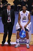 DESCRIZIONE : Biella Beko All Star Game 2012-13<br /> GIOCATORE : Coach Luca Banchi e Lance Harris<br /> CATEGORIA : Coach direttive Fair Play<br /> SQUADRA : All Star Team <br /> EVENTO : All Star Game 2012-13<br /> GARA : Italia All Star Team<br /> DATA : 16/12/2012 <br /> SPORT : Pallacanestro<br /> AUTORE : Agenzia Ciamillo-Castoria/A.Giberti<br /> Galleria : FIP Nazionali 2012<br /> Fotonotizia : Biella Beko All Star Game 2012-13<br /> Predefinita :