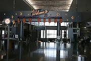 USA, Nevada, Las Vegas, Airport, welcome to Las Vegas sign