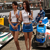 Grid girls at Le Mans 24H, 2014 (Saturday, 14 June)