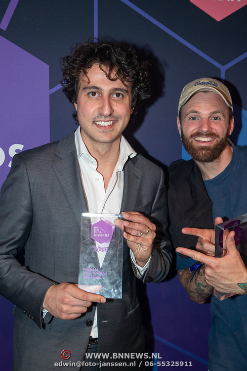 NLD/Amsterdam/20190613 - Inloop uitreiking De Beste Social Awards 2019, Jesse Klaver