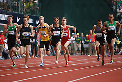 Olympic Trials Eugene 2012: men's 1500 meter final, start
