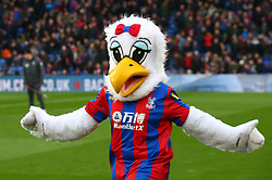 March 31, 2018 - London, Greater London, United Kingdom - Crystal Palace Mascot.during the Premiership League  match between Crystal Palace and Liverpool at Wembley, London, England on 31 March 2018. (Credit Image: © Kieran Galvin/NurPhoto via ZUMA Press)