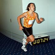 NK traplopen 1997 Rotterdam finish, Bart Veldkamp