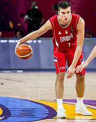 Bogdan Bogdanovic of Serbia during basketball match between National Teams of Russia and Serbia at Day 16 in Semifinal of the FIBA EuroBasket 2017 at Sinan Erdem Dome in Istanbul, Turkey on September 15, 2017. Photo by Vid Ponikvar / Sportida