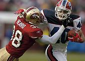 NFL-Buffalo Bills at San Francisco 49ers-Dec 26, 2004
