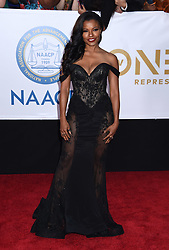 Annie Ilonzeh at the 49th NAACP Image Awards held at the Pasadena Civic Auditorium on January 15, 2018 in Pasadena, CA ©TArroyo/AFF-USA.com. 15 Jan 2018 Pictured: Keesha Sharp. Photo credit: MEGA TheMegaAgency.com +1 888 505 6342