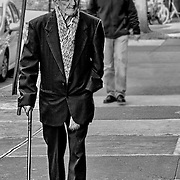 One of the things I love shooting is interesting people. This gentleman was just walking down the street and fit the character of the neighborhood on Arthur Avenue, the Bronx, NY, so perfectly.