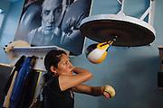 Ana Maria Torres nacio en Ciudad Nezahualcoyotl. Ahora es campeona del mundo y recientemente inauguro un gimnasio de box para ayudar a los jóvenes a dejar las drogas, el 07 de abril de 2011, en Ciudad Neza, Mexico.