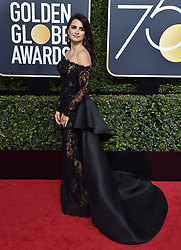 74th Annual Golden Globe Awards - Arrivals. The Beverly Hilton Hotel, Beverly Hills, CA. Pictured: Allison Williams. EVENT January 8, 2016. 07 Jan 2018 Pictured: Penelope Cruz. Photo credit: AXELLE/BAUER-GRIFFIN/MEGA TheMegaAgency.com +1 888 505 6342
