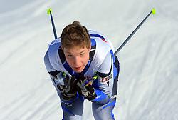 Slovenian cross-country skier Klemen Kralj at 10th OPA - Continental Cup 2008-2009, on January 17, 2009, in Rogla, Slovenia.  (Photo by Vid Ponikvar / Sportida)