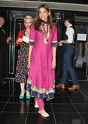 © London News Pictures. 25/06/2013. London, UK.  Shobna Gulati at the Charlie and the Chocolate Factory - Opening Night After Party . Photo credit: Brett D. Cove/LNP