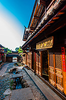 The market town of Shaxi, on the Tea Horse Caravan Road, which links Southern Yunnan to Tibet and Burma and retains its position as one of the best preserved historic market hubs today.