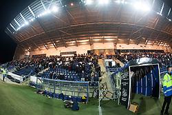Main stand, Falkirk Stadium..Falkirk 1 v 1 Raith Rovers, 5/3/2013.