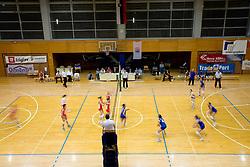 1st match of finals of 1st DOL women volleyball league between OK Hit Nova Gorica and OK Nova KBM Branik, Maribor played in OS Milojke Strukelj, on April 8, 2009, in Nova Gorica, Slovenia. Nova KBM Branik won 3:1. (Photo by Vid Ponikvar / Sportida)
