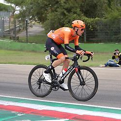 27-09-2020: wielrennen: WK weg mannen: Imola <br /> Dylan van Baarle27-09-2020: wielrennen: WK weg mannen: Imola