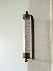 The White House West Wing in Washington, DC is undergoing renovations while United States President Donald J. Trump is vacationing in Bedminster, New Jersey on Friday, August 11, 2017. 11 Aug 2017 Pictured: Thermometer outside the Oval Office of the White House in Washington, DC as it is undergoing renovations while United States President Donald J. Trump is vacationing in Bedminster, New Jersey on Friday, August 11, 2017. Credit: Ron Sachs / CNP. Photo credit: Ron Sachs - CNP / MEGA TheMegaAgency.com +1 888 505 6342
