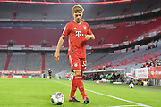 Joshua Kimmich (Bayern), ganze Figur during the Bayern Munich vs Eintracht Frankfurt, German Cup Semi-Final at Allianz Arena, Munich, Germany on 10 June 2020.