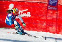 18.01.2013, Olympia delle Tofane, Cortina d Ampezzo, ITA, FIS Weltcup Ski Alpin, Abfahrt, Damen, 1. Training, im Bild Nadja Kamer (SUI) // Nadja Kamer of Switzerland in action during 1st practice of the ladies Downhill of the FIS Ski Alpine World Cup at the Olympia delle Tofane course, Cortina d Ampezzo, Italy on 2013/01/18. EXPA Pictures © 2013, PhotoCredit: EXPA/ Johann Groder