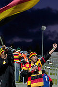 Happy fans after Waikato's 25-10 win during their Round 9 ITM cup Rugby match, Waikato v Otago, at Waikato Stadium, Hamilton, New Zealand, Sunday 13 August  2011. Photo: Dion Mellow/photosport.co.nz