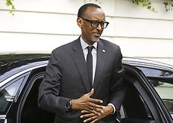 June 8, 2017 - Brussels, BELGIUM - Rwanda President Paul Kagame pictured during a bilateral meeting of Belgian PM with President of Rwanda, at the Lambermont Prime Minister residence in Brussels, Thursday 08 June 2017. BELGA PHOTO NICOLAS MAETERLINCK (Credit Image: © Nicolas Maeterlinck/Belga via ZUMA Press)
