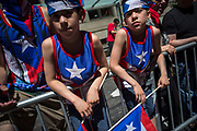 Festival goers during the 59th annual National Puerto Rican Day Parade.