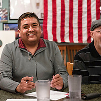 Rodney L. Tahe, elected as chairman of the McKinley County Republican Party at the group's Biennial County Convention, Thursday, Jan. 10 at Sammy C's in Gallup.