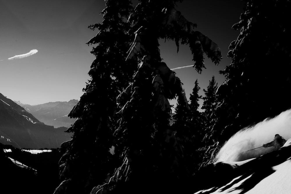 Rider:, Sven Mermod, Location Leysin Switzerland.