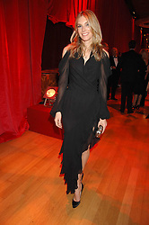KIM HERSOV at a dinner held at the Natural History Museum to celebrate the re-opening of their store at 175-177 New Bond Street, London on 17th October 2007.<br /><br />NON EXCLUSIVE - WORLD RIGHTS
