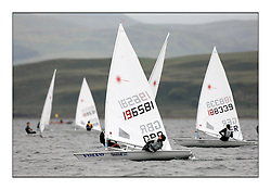 The second day of racing at the World Laser Radial Youth Championships, Largs, Scotland...Andrew Mcgowan GBR 196581..317 Youth Sailors from 42 different nations compete in the World and European Laser Radial Youth Champiponship from the 17-25 July 2010...The Laser Radial World Championships take place every year. This is the first time they have been held in Scotland and are part of the initiaitve to bring key world class events to Britain in the lead up to the 2012 Olympic Games. ..The Laser is the world's most popular singlehanded sailing dinghy and is sailed and raced worldwide. ..Further media information from .laserworlds@gmail.com.event press officer mobile +44 7866 571932 and +44 1475 675129 .