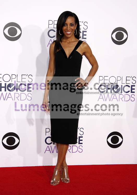 Shaun Robinson at the 41st Annual People's Choice Awards held at the Nokia L.A. Live Theatre in Los Angeles on January 7, 2015. Credit: Lumeimages.com