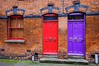 République d'Irlande, Dublin, quartier de Liberties // Republic of Ireland; Dublin, Liberties neighborhood